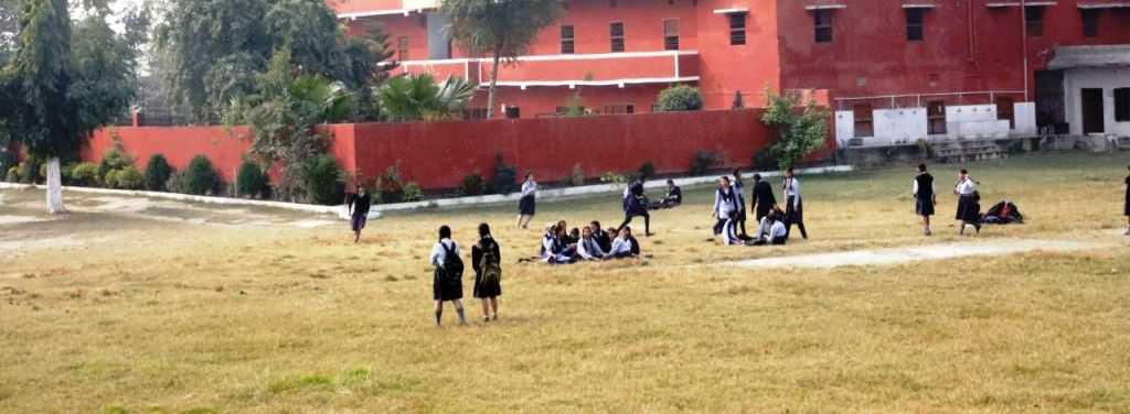 school playground St. Joseph's Sr. Sec. SchoolHostel, CBSE School affiliated school, Muzaffarpur Bihar