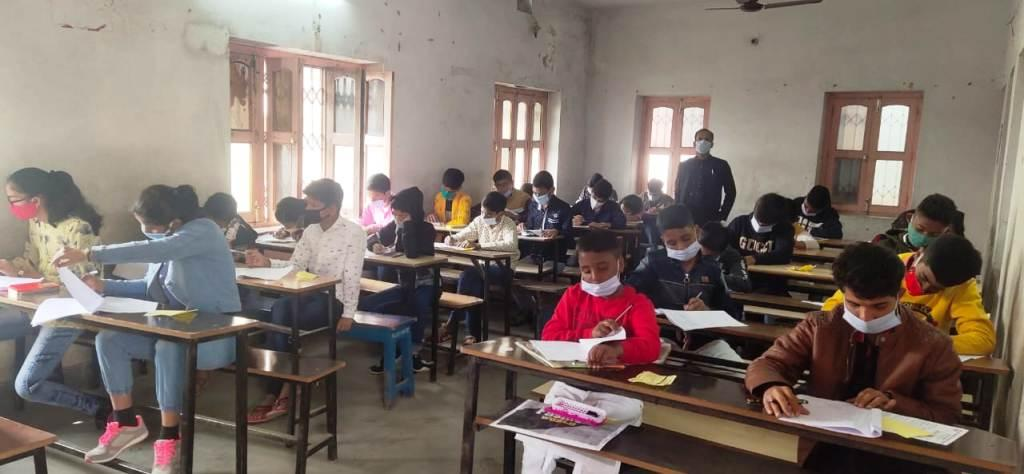 Candidates Participating in the School Admission Test: 2021-22